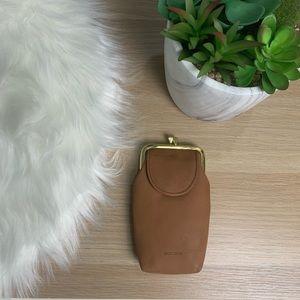 Leather cigarette case holder